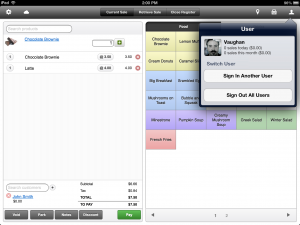 Vend mobile point of sale hardware and iPad App