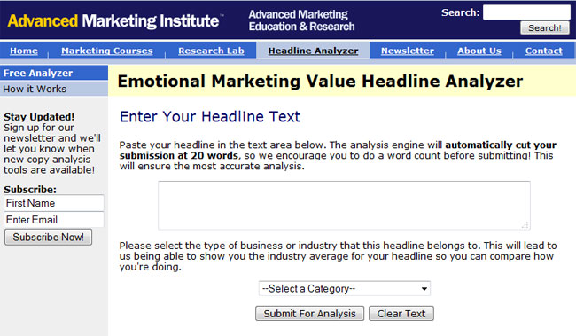 Emotional Marketing Value