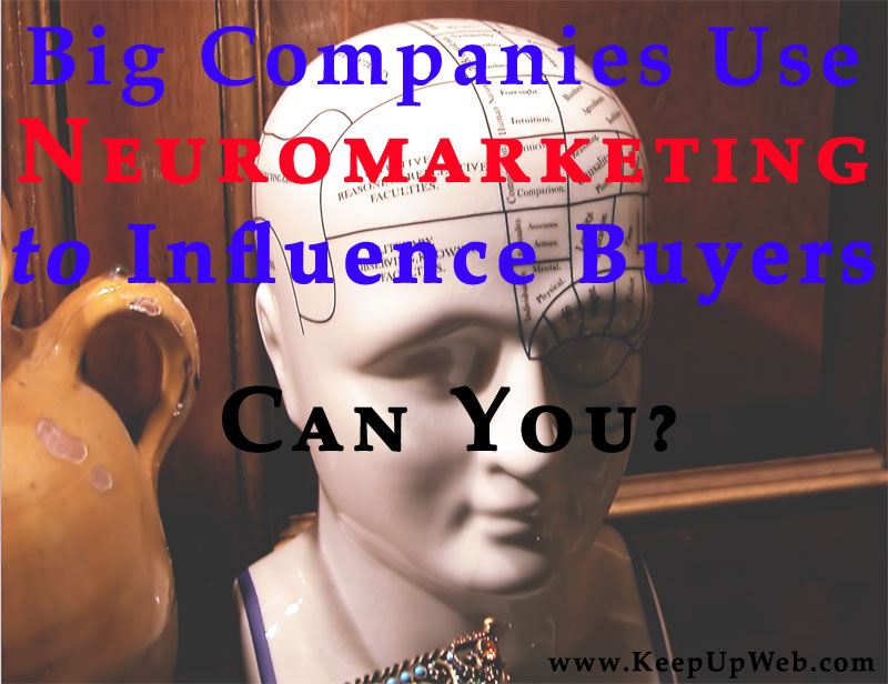 Post image for Big Companies Use Neuromarketing to Influence Buyers. Can You?