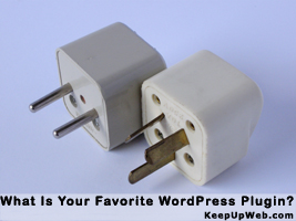 What is your favorite WordPress plugin?